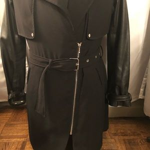 ZARA 🖤 Black Classic Trench Coat